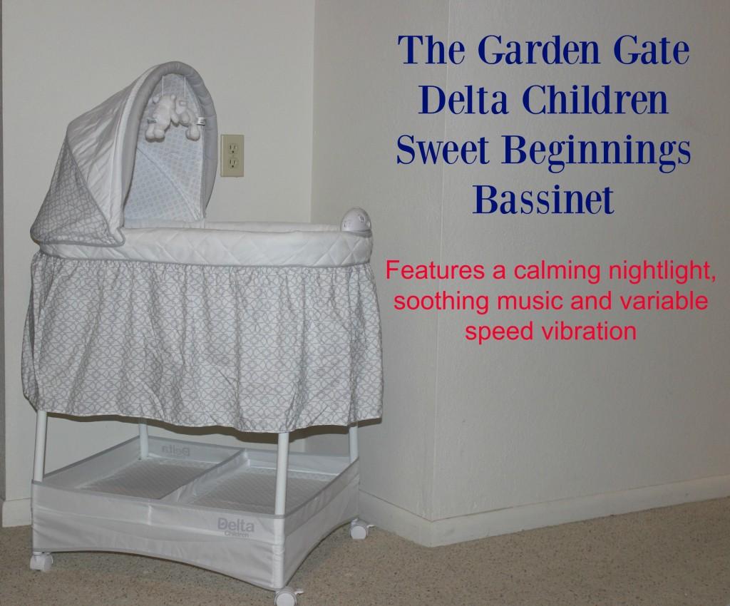 Delta Children Gliding Bassinet