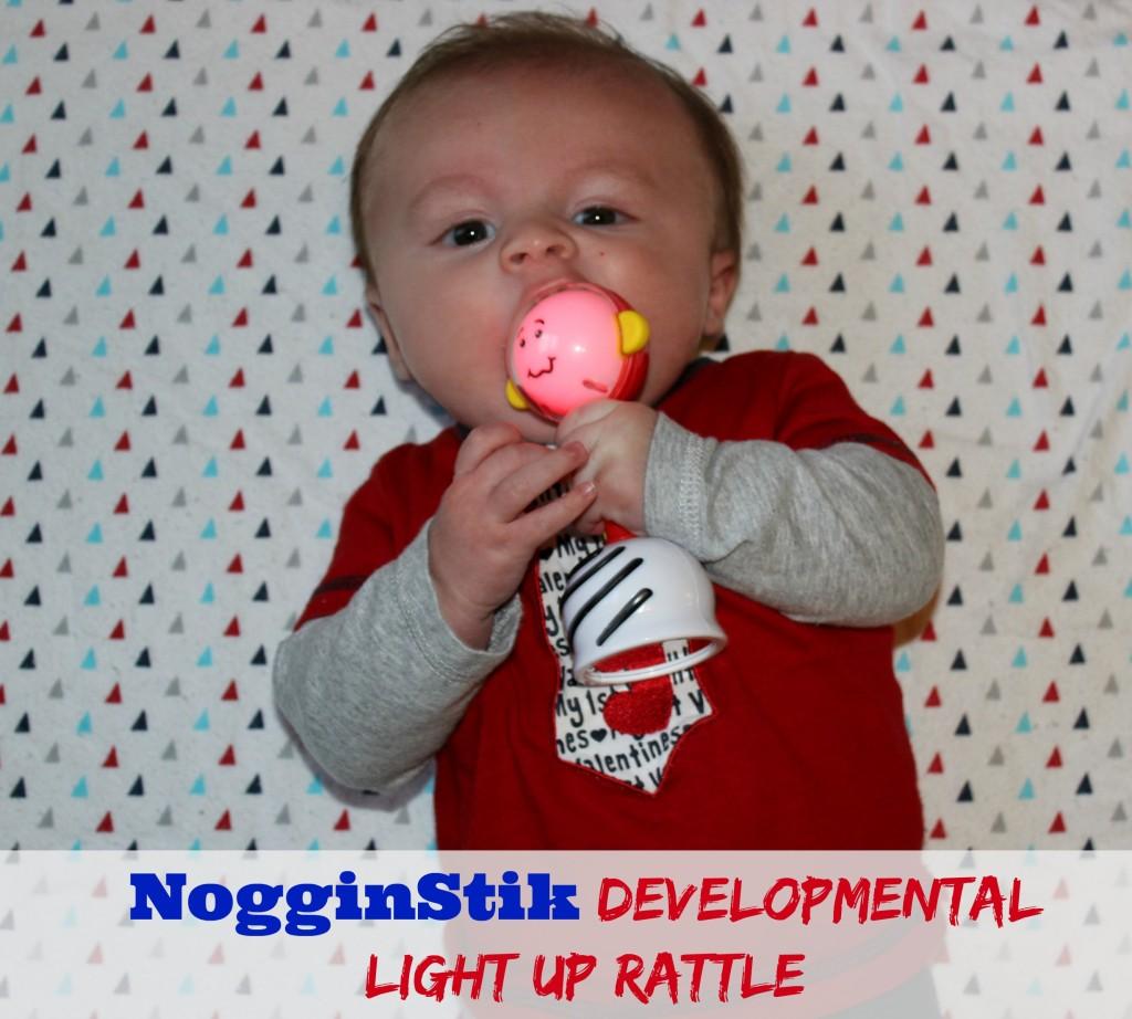 NogginStick Light Up Rattle