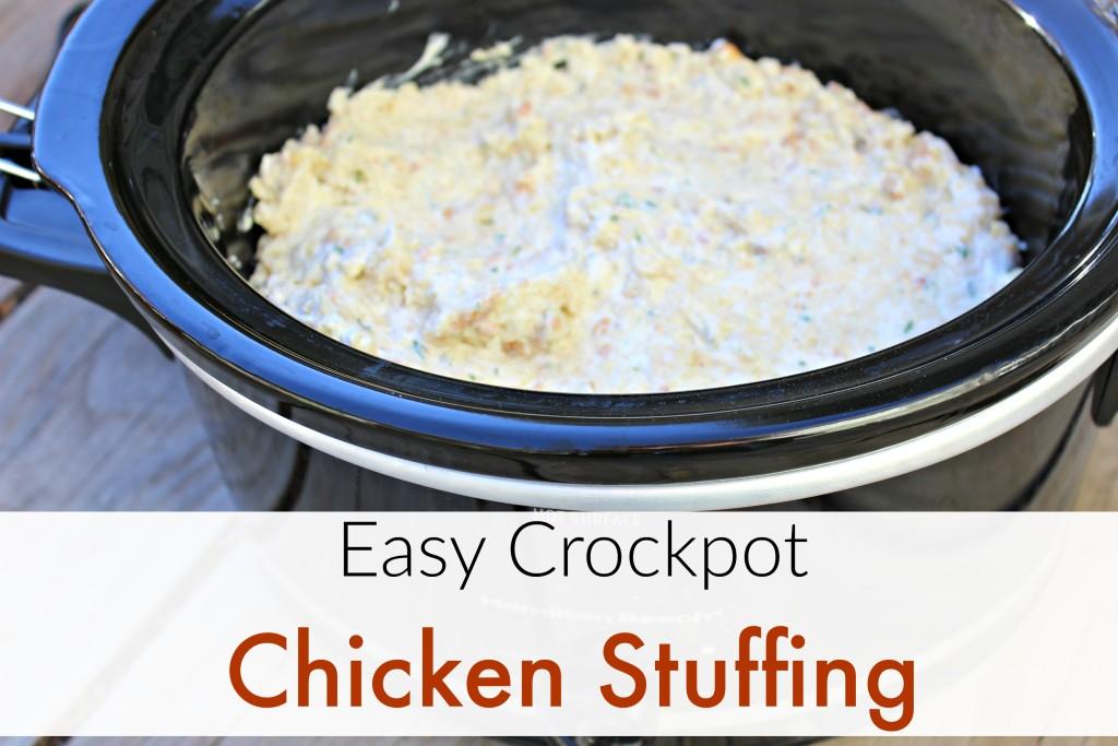crockpot chicken stuffing