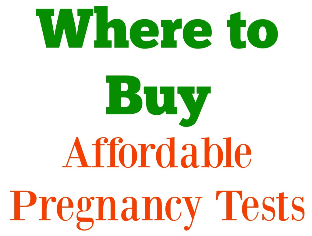 Where to Buy Affordable Pregnancy Tests