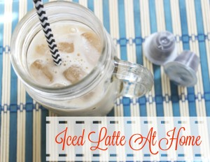 Quick and Easy Iced Latte At Home – Just A Few Ingredients!