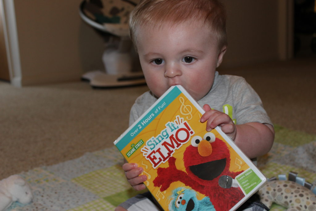 Sesame Street Sing It Elmo DVD