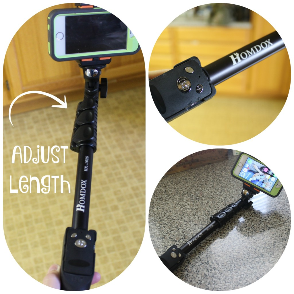 Homdox Professional Bluetooth Selfie Stick