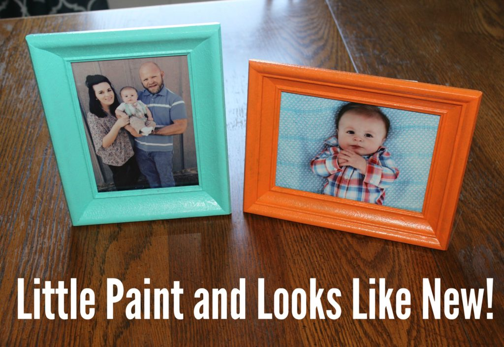 new life to old picture frame