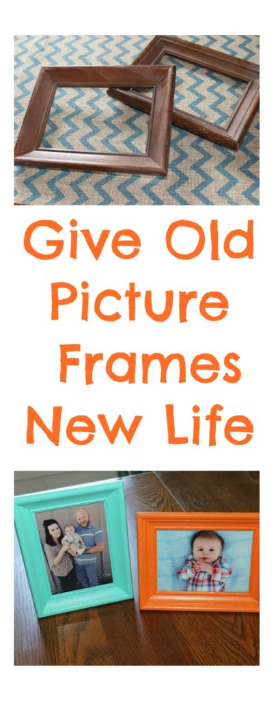 Give Old Picture Frames New Life