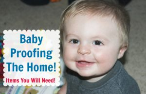 baby proofing the home