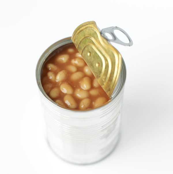 baked beans in can