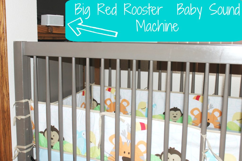 Big Red Rooster Baby Sound Machine Lull Baby To Sleep In