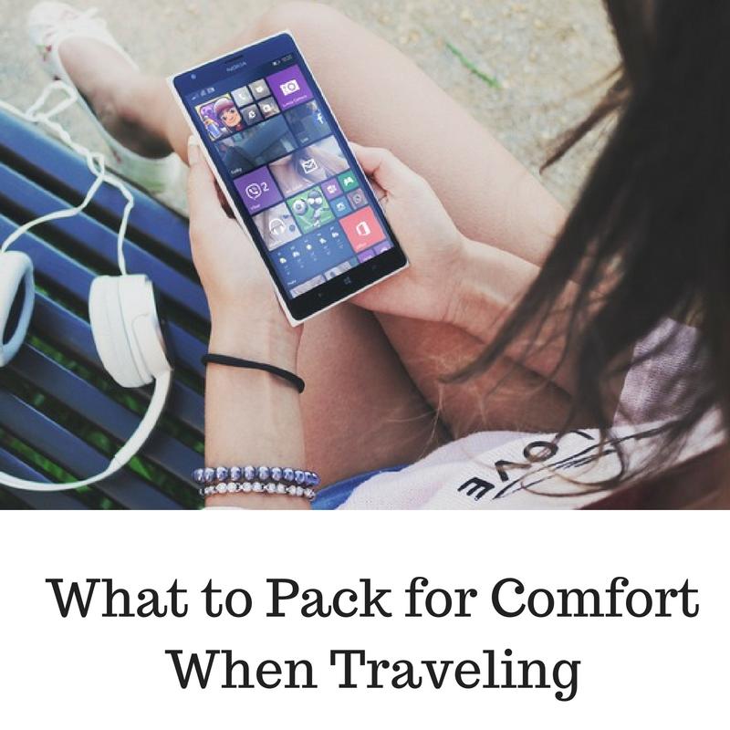 comfort when traveling