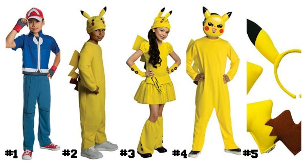 50 Pokemon Halloween Costumes and More You MUST Have This Year!