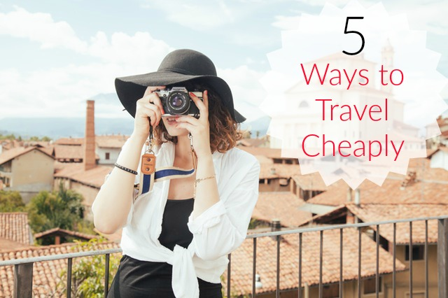 travel cheaply