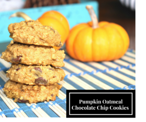 Oatmeal Pumpkin Chocolate Chip Cookies – Are a Hit This Season