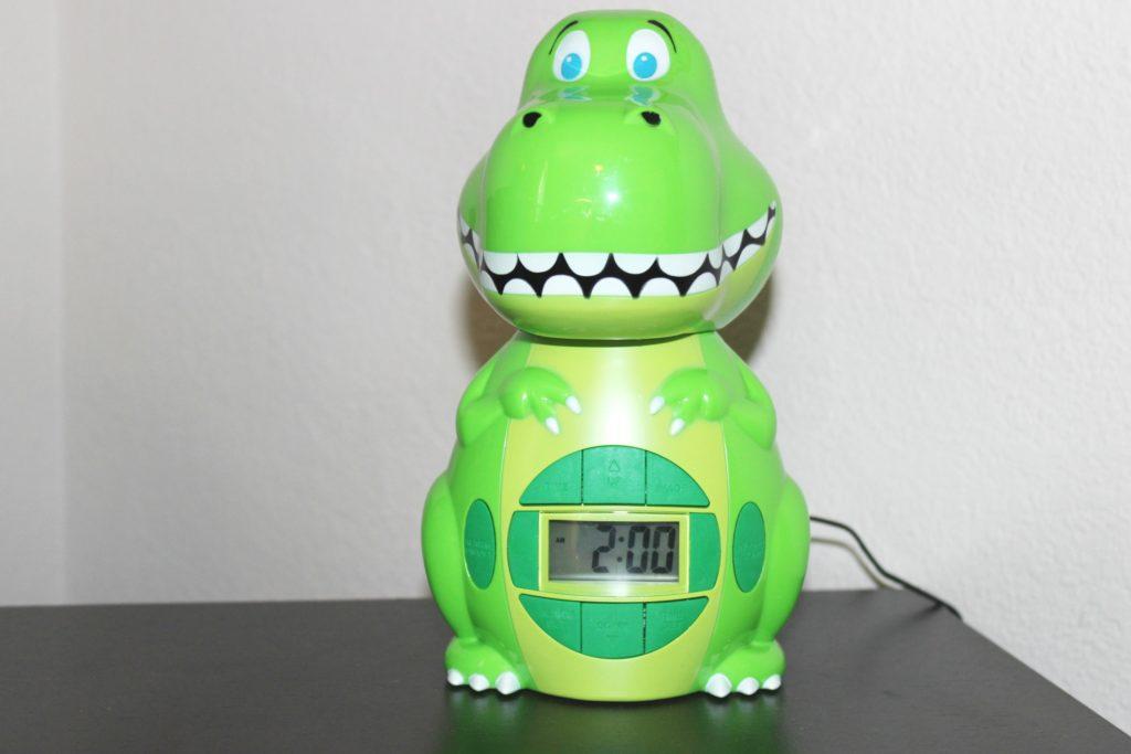 dinosaur clock