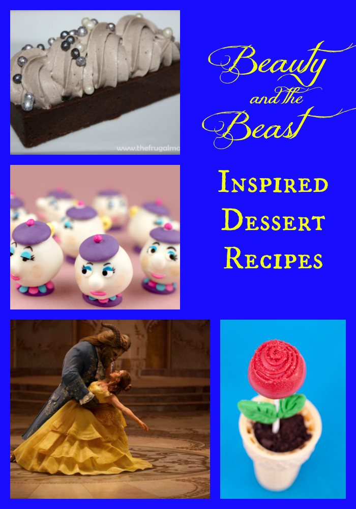 Beauty and the Beast Inspired Dessert Recipes