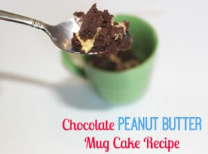 Chocolate Peanut Butter Mug Cake Recipe – To Die For!