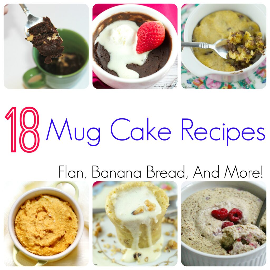 18 Mug Cake Recipes You Can Make in Minutes! Try it today