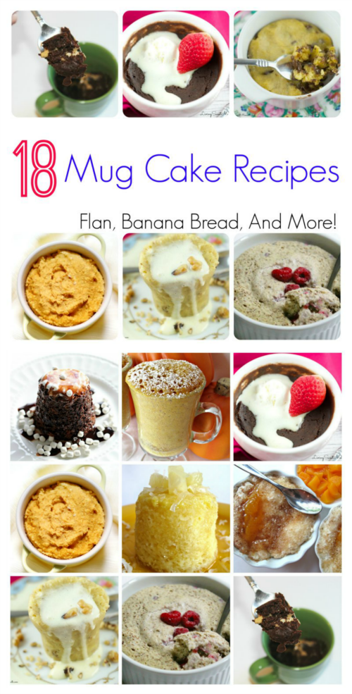 18 Delicious Mug Cake Recipes
