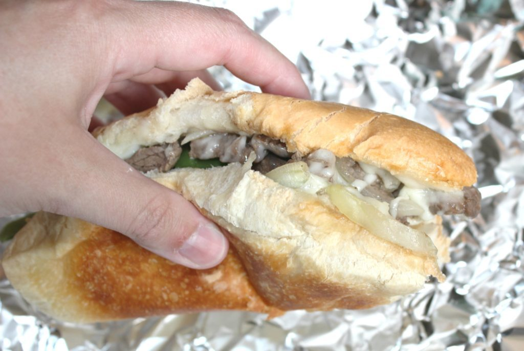 philly cheesesteaks at home