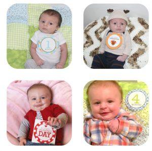 Baby Monthly Stickers – Celebrate Milestones with Photos