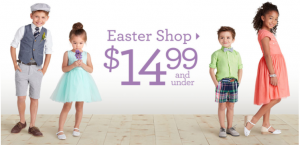 Get the Kids Ready for Easter with 40-70% Off at Gymboree!