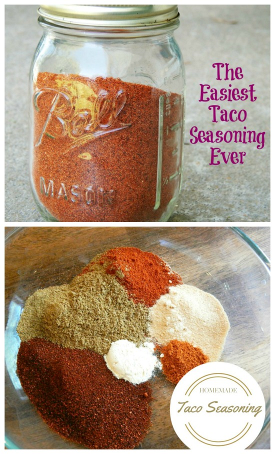 This Easy Homemade Taco Seasoning Recipe is inexpensive to make and tastes better than the packets!