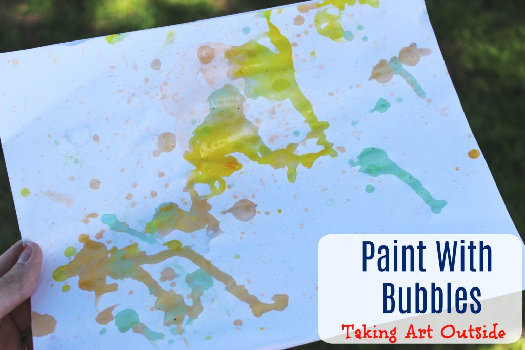 Paint With Bubbles