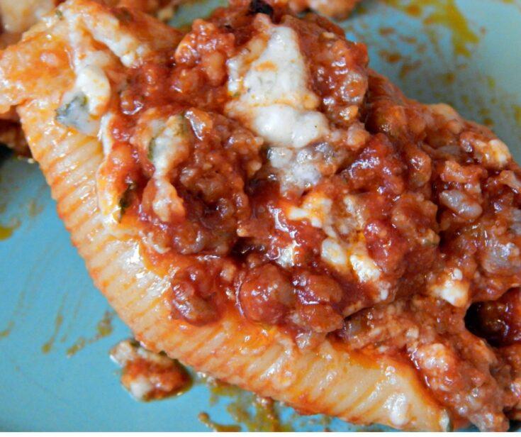 Sausage Stuffed Jumbo Shells Recipe