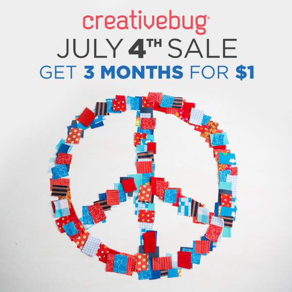 Creativebug Sale