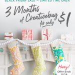 Creativebug: Get 3 Months for only $1!!