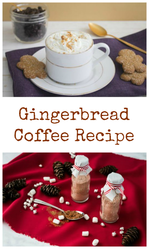 Check out this delicious Gingerbread Coffee recipe! It's the perfect beverage for a cold winter morning!
