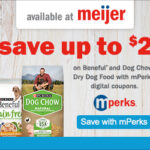 Save on Beneful and Dog Chow Dry Dog Food at Meijer