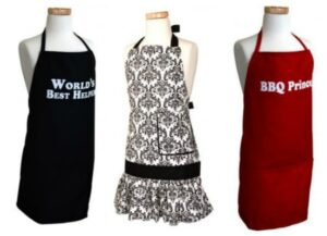 Aprons for Men, Women and Kids Only $4 Each!