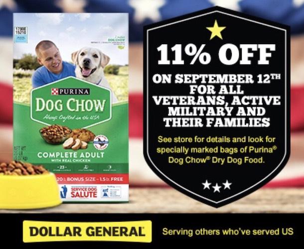 Purina Dog Chow at Dollar General