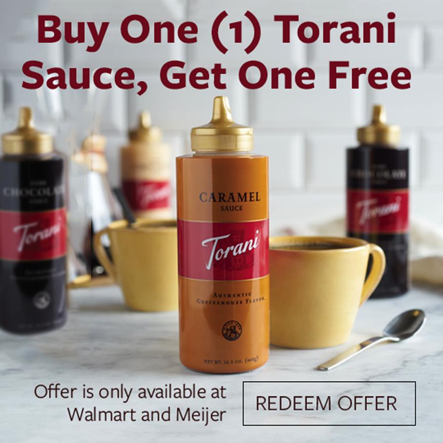 Torani Rebate Offer
