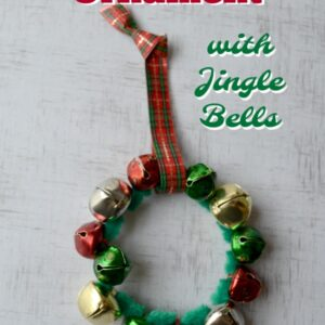 Wreath Ornament with Jingle Bells