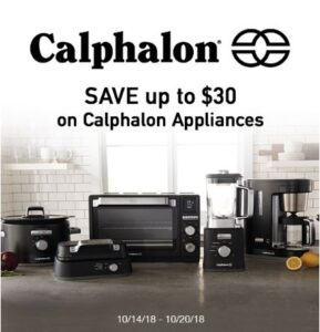 Get Calphalon Appliance Savings at Target – This Week Only!