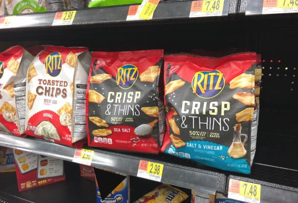 Ritz Crisp Thins Walmart