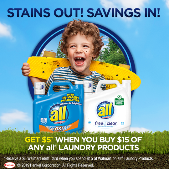 All Laundry Products Walmart Gift Card