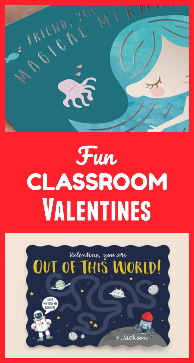 Fun Classroom Valentines