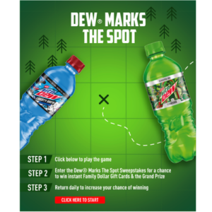 Mountain Dew Sweepstakes