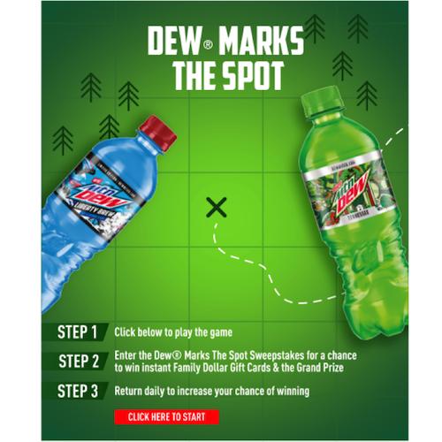 Mountain Dew Sweepstakes