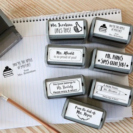 Self Inking Teacher Stamps