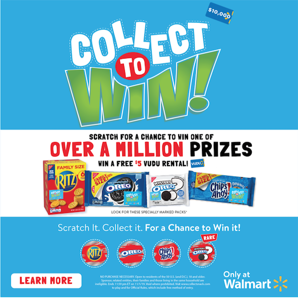 Ritz Oreo Collect and Win
