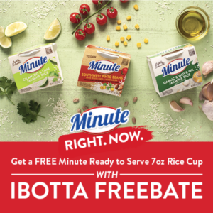 Minute Rice Ibotta