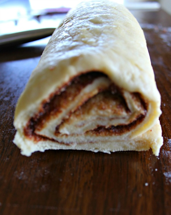 Copycat Cinnabons Cinnamon Rolls process