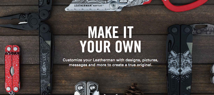 Customize Leatherman