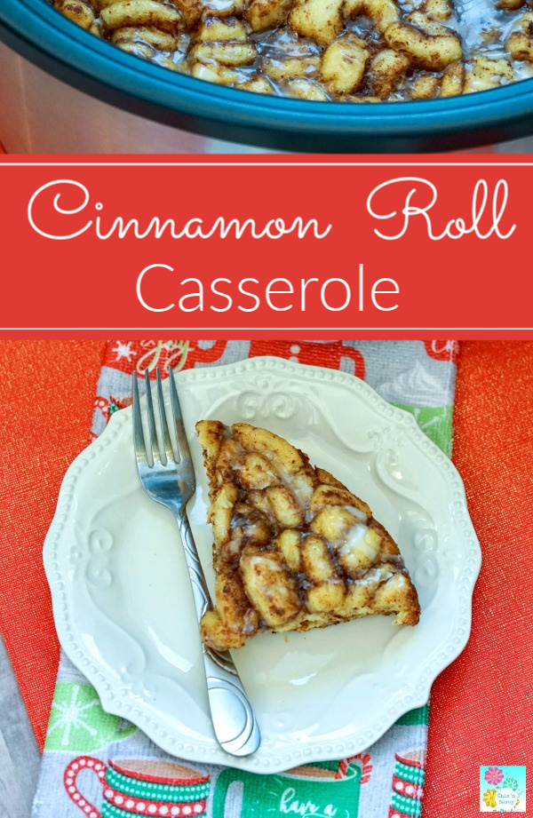 Cinnamon Roll Casserole Recipe