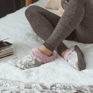 MUK LUKS Cozy Mornings Clog Slippers