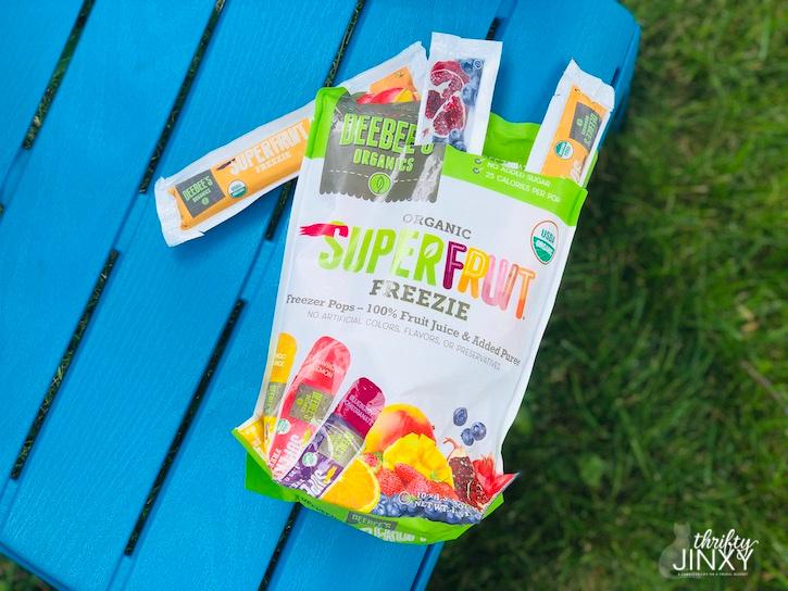 DeeBees Organics SuperFruit Freezies
