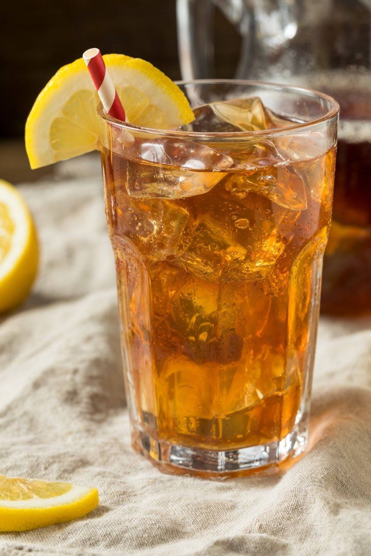 Southern Sweet Tea with Lemon